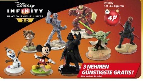 Disney Infinity 1.0 - 3.0 Figuren 3 Kaufen die Billigste umsonst für Sammler und Zocker !REAL FLYER!Ab 4.99€-12.99€