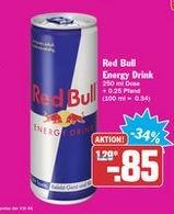[HIT bundesweit] Red Bull - verschiedene Sorten (0,25l) für 0,85€ zzgl. Pfand