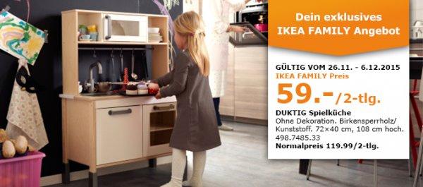 [LOKAL] Spielküche DUKTIG für 59,- statt 119,99€ ab 26.11.2015