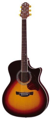 @Amazon IT: Kleines Instrumenten Special zur späten Stunde - z.B. Crafter GAE-8/VLS-V Grand Auditorium Westerngitarre für ca. 180€ statt 455€