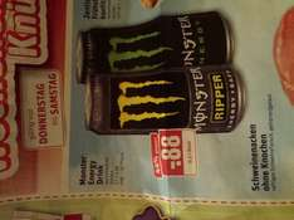 Monster Energy im Rewe Solingen & evtl. Umgebung