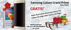 Samsung S6 Edge 32 GB (Möglich für: 342,15€!) + Samsung Galaxy Grand Prime VE (+ 86,85€ in Superpunkten[Rakuten])