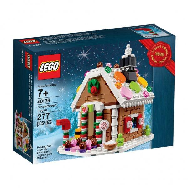 LEGO Online-Shop und Stores: LEGO 40139 Lebkuchenhaus gratis bei 65 € MBW, zusätzlich 5 % Rabatt möglich