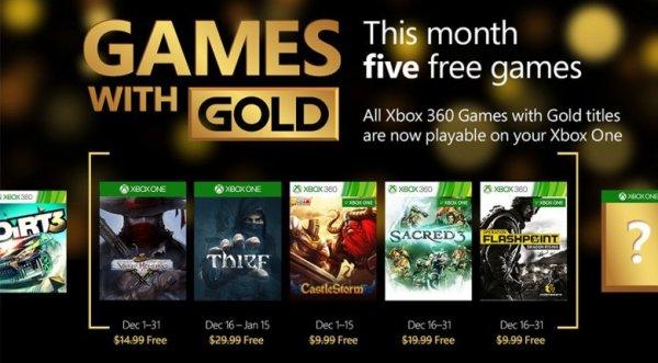 Xbox Games With Gold Spiele für den Dezember 2015