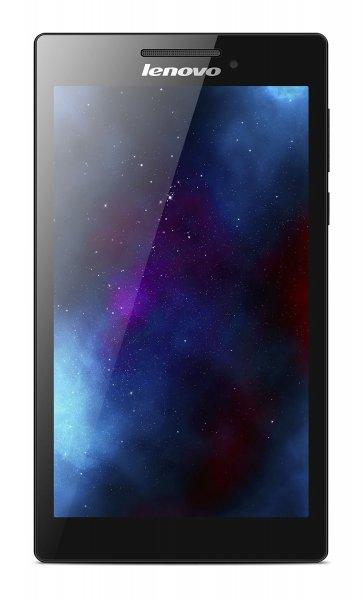 Lenovo Tab 2 A7-10 17,8 cm (7 Zoll IPS) Tablet (ARM MTK 8121 QC, 1,3GHz, 1GB RAM, 8GB eMMC, GPS, Touchscreen, Android 4.4) schwarz für 59,81 € @ Amazon.de