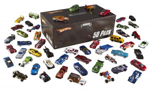 [amazon.co.uk] Hot Wheels 50er Pack Autos im Karton (einzeln verpackt) für ca. 59€ incl.Versand nach Deutschland!