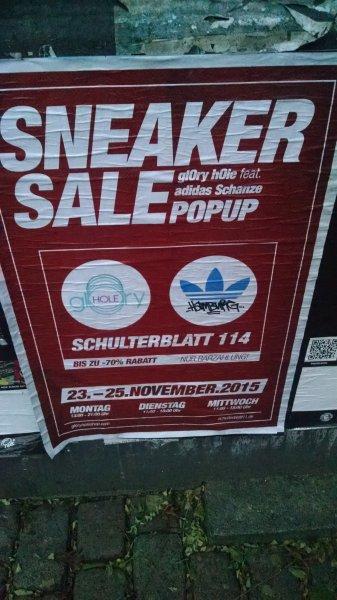 Adidas Sneaker Sale LOKAL HAMBURG