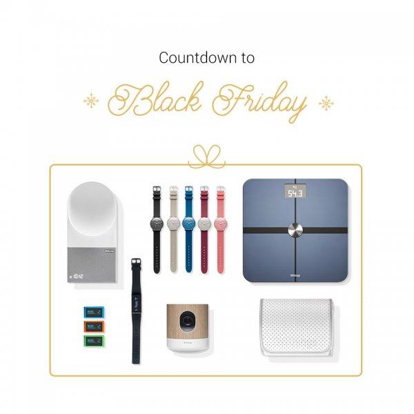 [Black Friday] Bis zu 60% Rabatt auf Withings Produkte