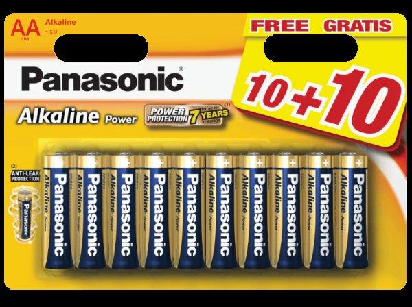(Saturn Black Week) PANASONIC LR6APB/20BW Batterien 20 Stück NUR BIS 09:00 UHR