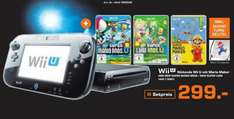[Saturn Black Week] Nintendo Wii U mit Mario Maker + New Super Mario Bros + New Super Luigi inklusive Mario Turnbeutel für 299,-€