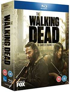 (Amazon.co.uk) O-Ton The Walking Dead - Season 1-5 [Blu-ray] für 66€