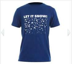 WH 1 LET IT SNOW T-Shirt royal, warehouse-one.de