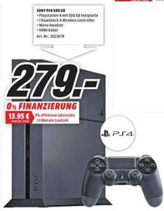 [Lokal Media Markt Trier] Playstation 4 500GB für 279€
