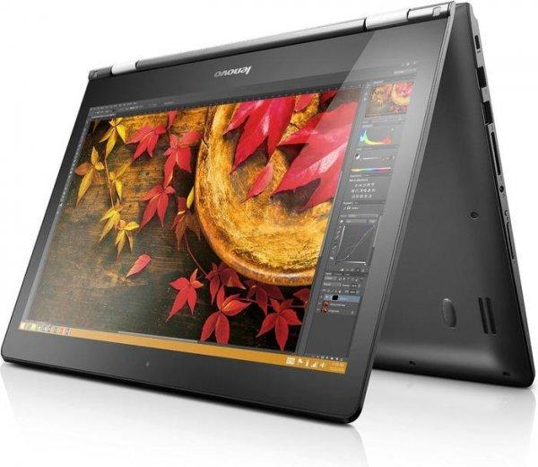 "Lenovo Yoga 500-15 Convertible - Core i3-4030U, 4GB RAM, 1TB HDD, 15,6"" Full-HD-IPS Display mit Touchfunktion, Windows - 509,15€ @ Lenovo.de"