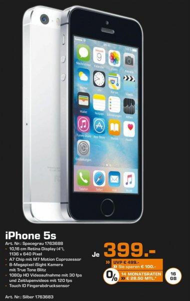 [Lokal-Dortmund?] iPhone 5s 16 GB - Spacegrau