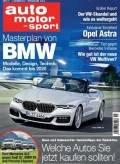 Auto, Motor & Sport Jahresabo für 12,70€