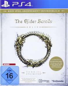 [Amazon Prime] The Elder Scrolls Online: Tamriel Unlimited (PS4) für 21,83