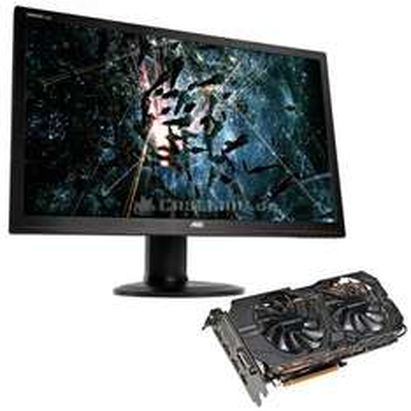 AMD Freesync Monitor AOC G2770PF plus Gigabyte R9 390 G1 im Bundle zum Bestpreis