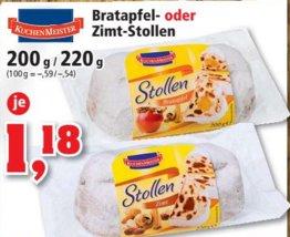 [THOMAS PHILIPPS] Bratapfel- oder Zimtstollen 200/220g für 1,18€