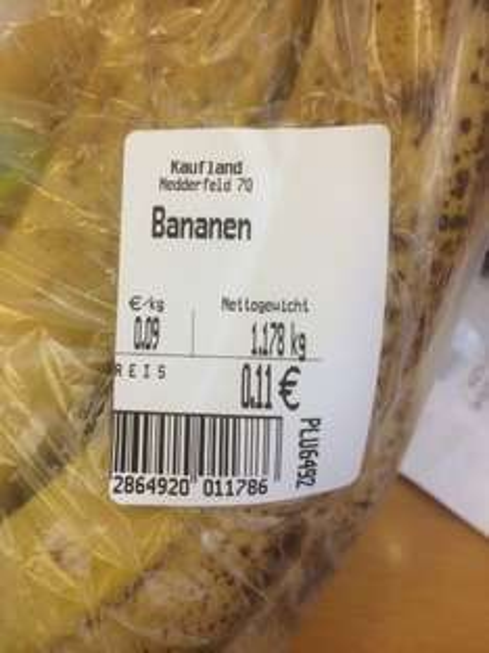 [Regional HH] Kaufland HH Nedderfeld - Bananen 9Cent / Kilo
