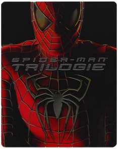 Spider-Man 1 - 3 Steelbook [Blu-ray] für 12,97€ bei Amazon (Prime)