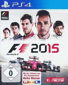 [Saturn] F1 2015 (PS4 / XBO) für 39,99€ [Disc-Version]