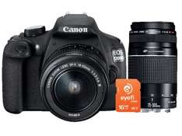 [Saturn.de] CANON EOS 1200D + Eyefi Speicherkarte Spiegelreflexkamera, 18 Megapixel, CMOS Sensor, 18-55 mm, 75-300 mm III USM Objektiv, Schwarz 395 € Versandkostenfrei (Für Studenten nur 365€ möglich)