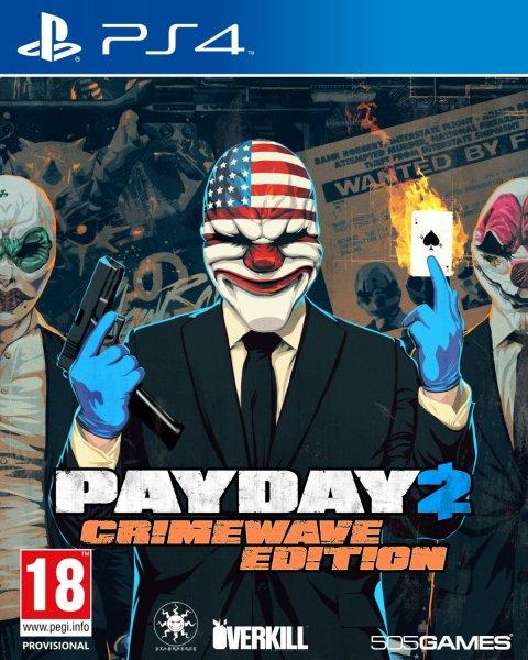 Payday 2: Crimewave Edition (PS4 &  XboxOne) inkl.Vsk für 29,85€ > [amazon.es]