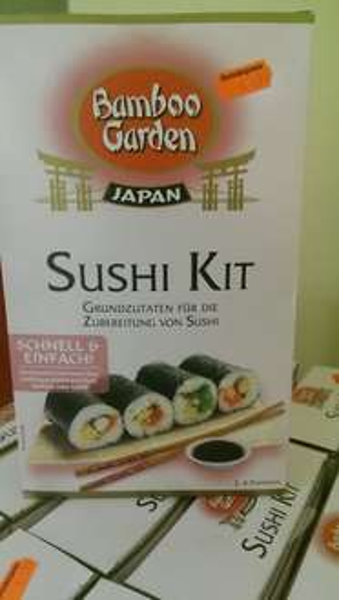 [Lokal Berlin Kaisers Nollendorfplatz] Bamboo Garden Sushi Kit 1,99