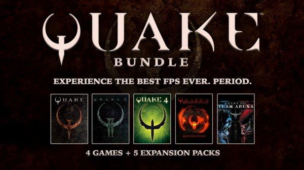 Quake Bundle @ Bundlestars.com 10,19€