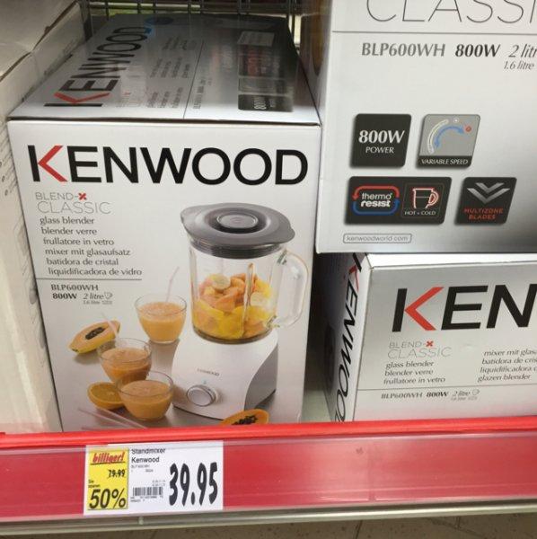 39,95€ Kenwood BLP 600WH Standmixer Blend X Classic [Kaufland Velbert]