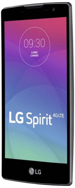 """LG Spirit 4G Smartphone (4,7"""" HD-IPS, 1,2 GHz-Quad-Core-Prozessor, 8 Megapixel-Kamera, 8 GB interner Speicher, Android 5.0) weiß für 125,45 € @Amazon.fr"""