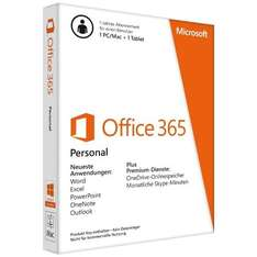 Microsoft Office 365 Personal (1User) + F-Secure SAVE (3User) [Cyberport]