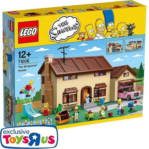 Toysrus.de, LEGO 71006 Das Simpsons Haus oder 71016 Kwik-E-Mart für jeweils 159,99€