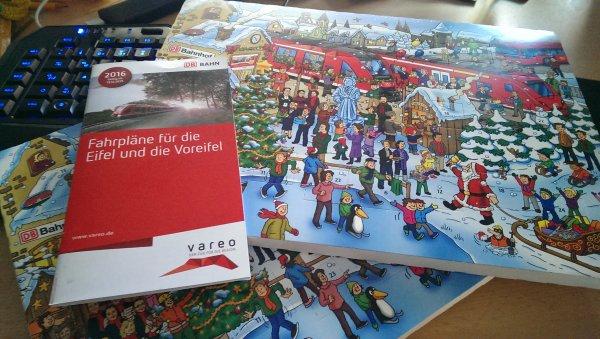 [lokal Eifel] Deutsche Bahn verteilt gratis Adventskalender!