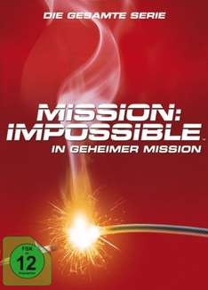[Amazon] Blitzangebot Mission Impossible - In geheimer Mission - Gesamtbox [12 DVDs]