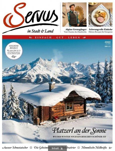"""3 Ausgaben """"Servus in Stadt & Land"""" gratis"""
