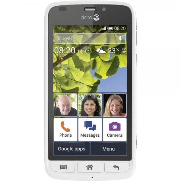 [online|Abholung vor Ort] Media Markt Senioren Android Smartphone Doro Liberto 820 3G weiß/schwarz 139€