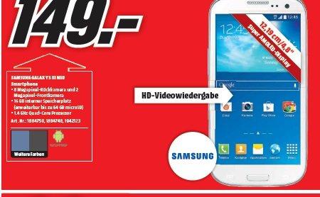 [Lokal] MM Elmshorn - Samsung S3 NEO - 149,-