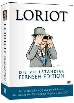 [DVD] Loriot - Die vollständige Fernseh-Edition - Alle Sketche und Cartoons aus 40 Jahren @ Alphamovies