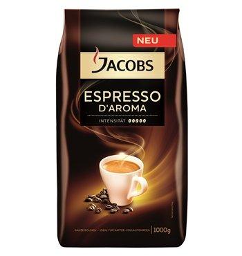 Jacobs Espresso D'Aroma/Jacobs Crema D'Aroma Cashback 1000g ab 4,99€ [Lokal Freiburg]