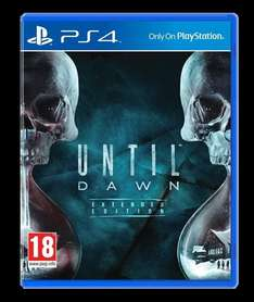 Until Dawn für 19,99 bei OTTO.DE - PS4 @Black Friday