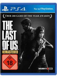 Until Dawn und The Last Of Us: Remastered PS4/ God of War 3 Remastered