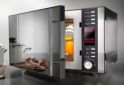 """[Quelle] Privileg 3-in-1-Mikrowelle """"Edition 50"""" 2500 W Heißluft und 1100 Watt Grill"""