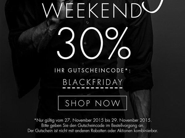 30% Rabatt auf Seidensticker.de @Black Friday