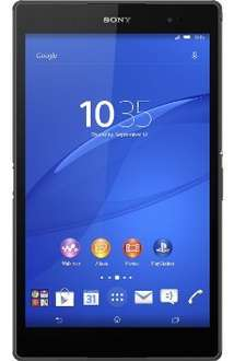[cyberport] Sony Xperia Z3 Tablet Compact LTE 16 GB Android 4.4 schwarz @Black Friday