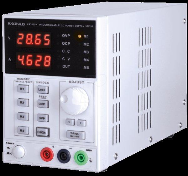@reichelt Korad Labor-Kompaktnetzgerät 0-30V DC/0-5A DC mit USB @Black Friday