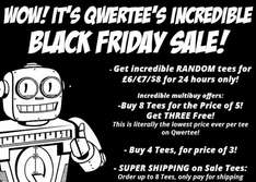 @Black Friday - Qwertee Black Friday Sale