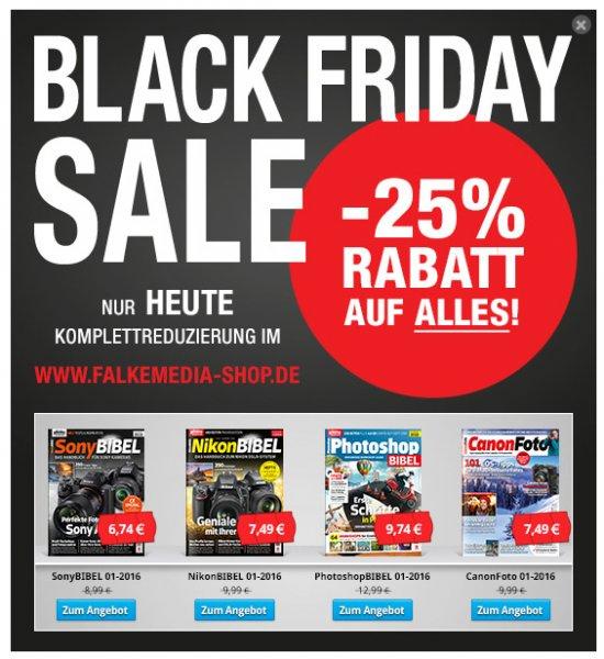 @Black Friday 25% auf Abos und Hefte.... bei digitalphoto.de bzw. falkmedia