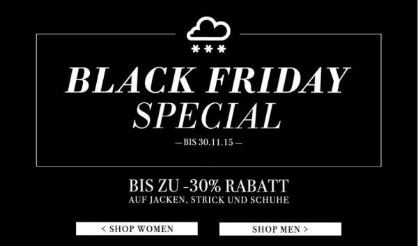 Bis zu -30% auf alle Jacken, Schuhe und Strick bei Jades24 @Black Friday